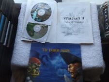 WARCRAFT II 2 TIDES OF DARKNESS & EXPANSION BEYOND THE DARK POSTAL PC STRATEGY