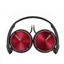 Auriculares rojos Sony para consolas de videojuegos