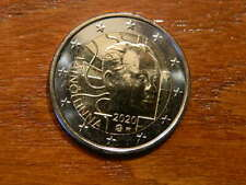 SOFORT: Finland 2020: NEW 2 Euro (BU) cc coin #100 YEARS VÄINÖ LINNA# FROM ROLL