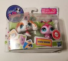 New in Box Littlest Pet Shop Totally Talented Cocker Spaniel #2688 Ladybug #2689