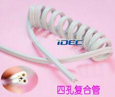 Dental Spiral Tube composite pipe 4-hole Dental Handpiece tubing 1PC