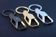 Mens Creative Alloy Metal Keyfob Car Keyring Keychain Key Chain Ring Us
