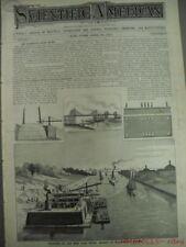 1882 John Bennett Acoustic Telephone Company San Luis Obispo Antique