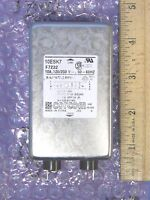 "NEW Corcom 10ESK7 Power Line Filter 10A 120/250VAC IEC 1/4"""