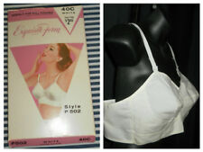 "~ New/Old Stock Exquisite Form 1950's ""Full Figure"" Crescent Stitch Bra 40C ~"