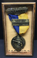 [66192] 1950 CARLISLE GUN CLUB (PA.) CENTER TIMED FIRE MARKSMAN CLASS 3rd AWARD