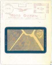 MOTOCYCLE  EAGLE : MOTO GUZZI -  AUTOMATIC RED POSTMARK on COVER -  ITALY 1950