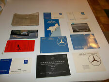 1980 107 SL SLC Mercedes owners manuals, 12 pieces set USED NICE ORIGINAL MB