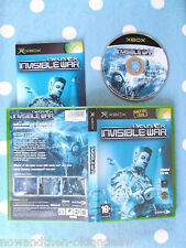 DEUS EX  INVISIBLE WAR ~ XBOX ~ PAL ~ COMPLETE ~  UK SELLER~FAST FREE UK POSTAGE