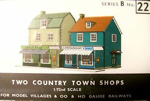 SUPERQUICK   TWO COUNTRY TOWN SHOPS   B22   KIT