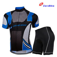 Men's Pro Sport Cycling Bike Short Sleeve Clothing Bicycle Set Suit Jersey&Short