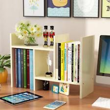 Kids Childrens Wooden Book Shelf Books CD Storage Rack Organizer Bookcase