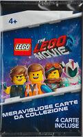 LEGO • The Lego Movie 2 Carte da Collezione BUSTINA 4 CARTE CHIUSA ITALIANO