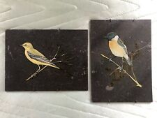 Vintage Wall Hanging Art Pictures on Slate