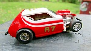 TYCO Curvehugger RARE ROUGH RIDER GREMLIN NICE CAR SLOT CAR  RUNNING  Toy Lot