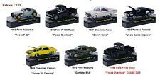 Chip Foose  6 CARS SET RELEASE 1 W/CASES 1/64 M2 MACHINES 32600-CF01