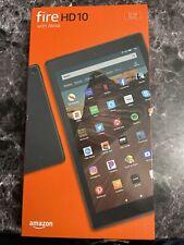 "New Amazon Kindle Fire HD 10"" 32GB Tablet Alexa | 2020 Latest Model | Black"