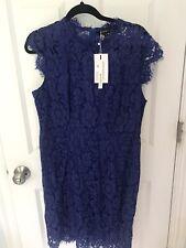 Merokeety Lace Cocktail Dress Size Xl Royal Blue