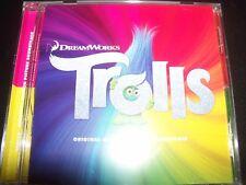 Trolls Original Motion Picture (Dreamworks) Soundtrack CD - New