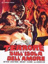 Dvd TERRORE SULL'ISOLA DELL'AMORE  ......NUOVO