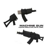 16GB AK47 Rifle Manchine Gun Novelty Gift Memory Stick USB 2.0 Flash Drive