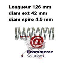 RESSORT DE POMPE 126 mm Diam ext 42 mm PRAMAC LIFTER TRANSPALETTE MANUEL
