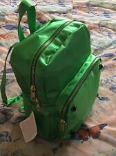 "Accessories Girls Backpacks Green color 9"" W x 5"" D x 11"" H"