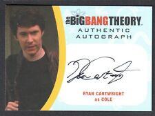 THE BIG BANG THEORY SEASON 6 & 7 Cryptozoic Autograph Card #RC2 RYAN CARTWRIGHT