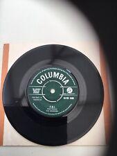 "Shadows, F.B.I. 7"" Vinyl Record VG + Condition 1961"