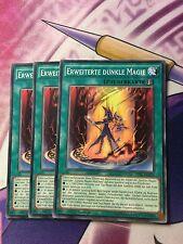 Yu-Gi-Oh 3 X Advanced Dark Magic tdil-de059 de NM 1.oder 2 on Com (playset)