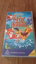 THE FOX AND THE HOUND - WALT DISNEY CLASSIC VHS VIDEO