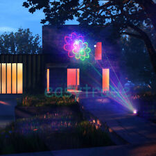 Outdoor Laser Light 20 Patterns Rgb Lighting Projector Show Party Garden Light