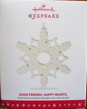 Hallmark 2016 - Good Friends. Happy Hearts - (Snowmen) - NEW