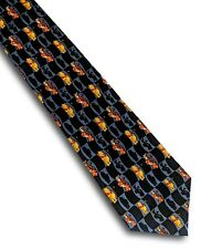 Men's novelty fun tie Disney Winnie The Pooh & Tigger