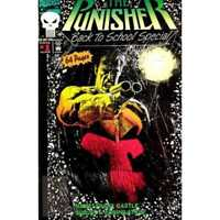 Punisher (1987 series) Back to School Special #1 in NM +. Marvel comics [*iq]