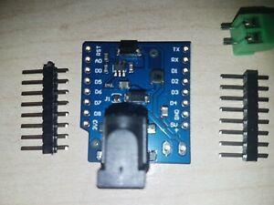 WEMOS D1 mini/pro power shield .   UK Seller