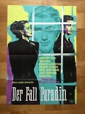 Der Fall Paradin (Kinoplakat '61) - Gregory Peck / Ann Todd / Alfred Hitchcock