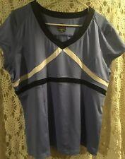 Bolle Sportswear Shirt Sz Xxl light Blue Black -White Pre-Owned