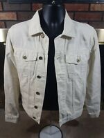 J. Crew Full Button White Denim Jean Jacket Coat Womens Size XS NEW WITH TAGS