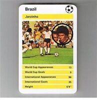 TOP TRUMPS International Greats football cards – VARIOUS