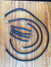 EZGO TXT 36V Golf Cart 4 Gauge #4 Welding Wire Battery Cable HD 1994 and up 7set