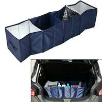 FOLDABLE FOLDING 4 IN 1 LARGE  CAR BOOT BAG STORAGE BOX TIDY TRAVEL ORGANISER