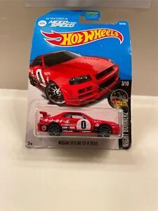 Hot Wheels Nissan Skyline GT-R (R34) Nightburnerz #3/10 DAMAGED