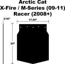 PDP Snow Flap for Arctic Cat F-Series, Z1, Turbo 10-11 CrossFire, M-Series 09-11