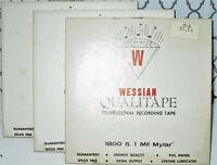 """NOS Vintage Reel to Reel Tape Recording Magnetic Hi Fidelity 7"""""""