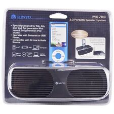Kinyo MS-786 2-Ch Portable Speaker System