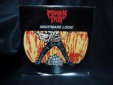 Power Trip Nightmare Logic LP Pic Disc Vinyl Integrity Iron Reagan Nails Unsane