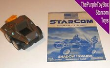 (A046) Vintage 1980's Starcom Toys ~ SHADOW INVADER ~ Invasion - WORKING
