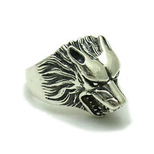 STERLING SILVER RING WOLF SOLID 925 R001532 EMPRESS