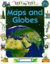 Step-by-Step Geography: Maps and Globes by Sabrina Crewe (1997, Hardcover)